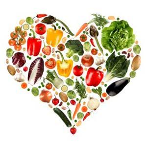 Sund mad hjerte