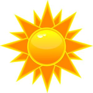 sol tegning