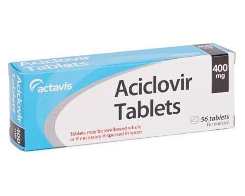 Aciclovir piller mod forkølelsessår